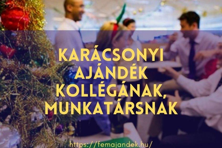 Karácsonyi ajándék kollégának, munkatársnak